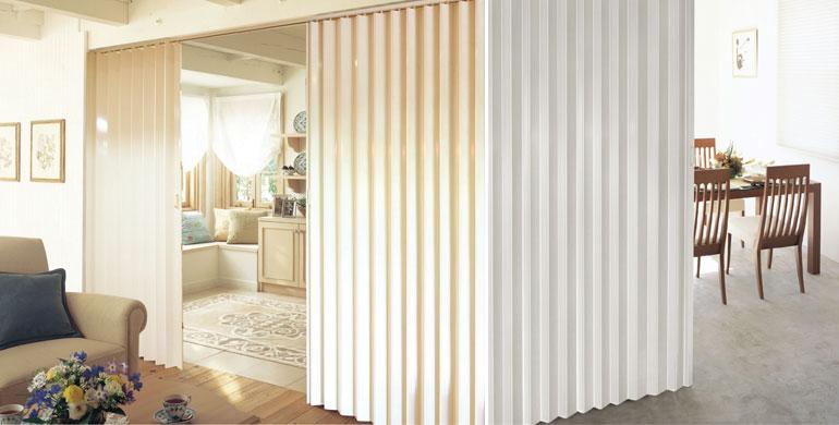 ฉากกั้นห้อง (folding door)